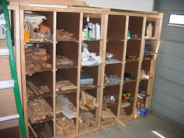 build small woodworking shop